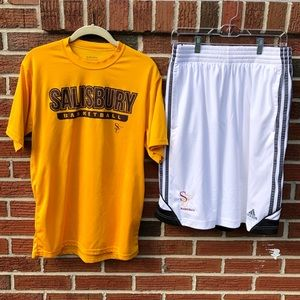 Salisbury University T-shirt and Shorts